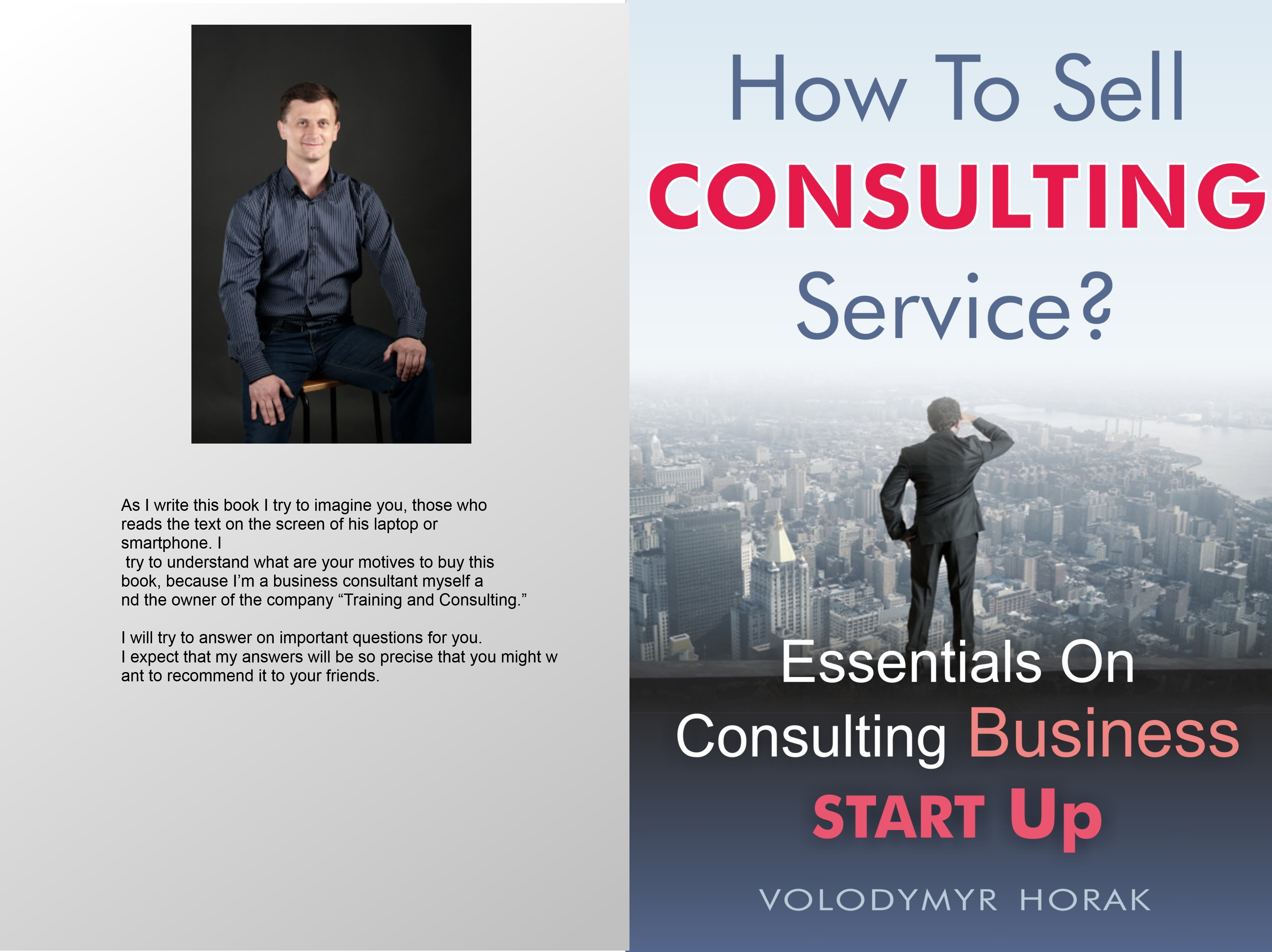 how to sell consultin service?
